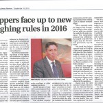 Shippers face up to new weighing rules in 2016