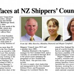 New faces at NZ Shippers' Council